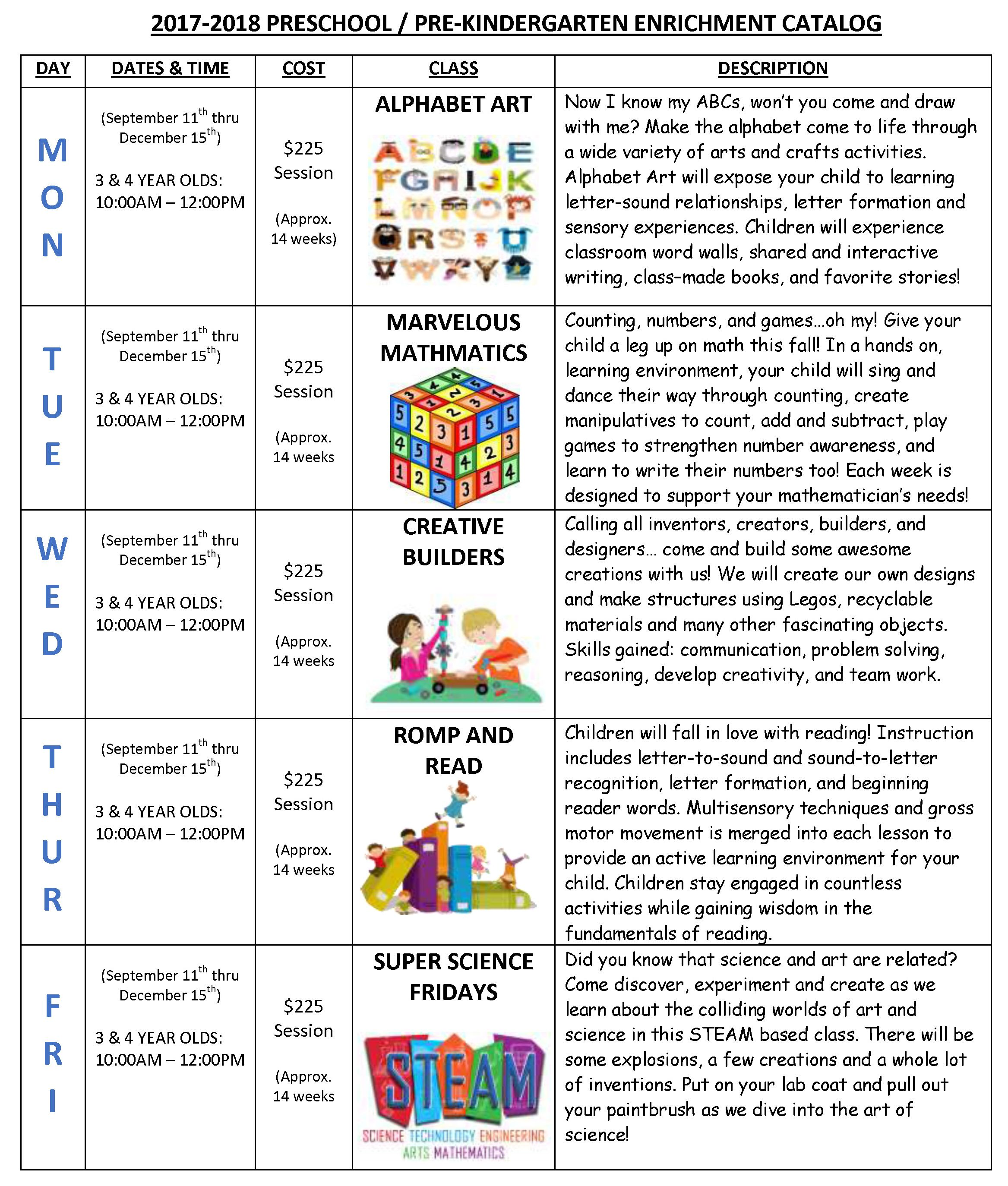Worksheet Kindergarten Enrichment Activities pre kindergarten enrichment kids creative learning centers we have several programs that children from ages 3 to 5 will engage in age appropriate activities focus o
